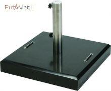 База (основа) для садового зонта square granite base with wheels 40 кг