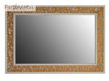 Зеркало в ванную комнату Валенсия 130 дорато Ольвия