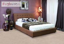 Кровать c подъемным механизмом Кофе - тайм 160x200 Капучино Embawood