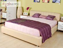 Кровать Релакс 160 бежевая Embawood