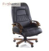 Кресло Босс EX RL чёрное Аклас