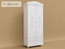 Шкаф 2-х дверный АС-02 Ассоль Санти