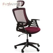 Кресло Merano headrest bordeaux Office4You