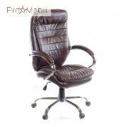 Кресло Валенсия CH ANF экокожа коричневое Аклас