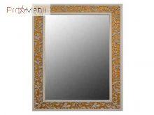 Зеркало в ванную комнату Валенсия 75/100 вертикальное дорато Ольвия