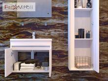 Пенал в ванную RvP-170 premium white Ravenna Ювента