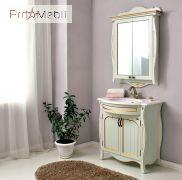 Зеркальный шкаф Ривьера dorato Ольвия
