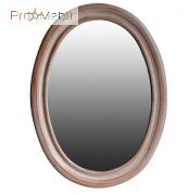 Зеркало в ванную комнату Флоренция apricot Ольвия