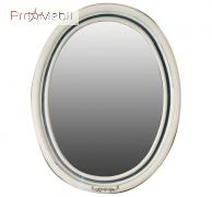 Зеркало в ванную комнату Флоренция ivory old blue Ольвия