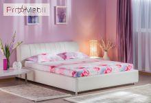 Кровать Релакс 160 белая Embawood
