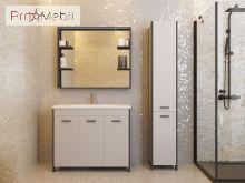 Зеркало в ванную комнату BrM-65 Brooklyn серое Ювента