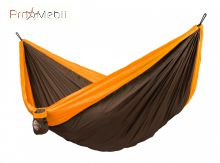 Двухместный туристический гамак Colibri orange La Siesta