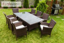 Комплект садовой мебели Trapani 9 Brown Di Volio