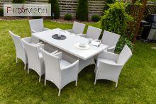 Комплект садовой мебели Trapani 9 White Di Volio