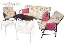 Комплект садовой мебели Глория без пуфов с831