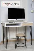 Стол письменный Desk Pro 1200 HairpinlegsUA