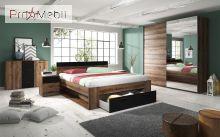 Кровать 160 91 Beta дуб монастырский Helvetia