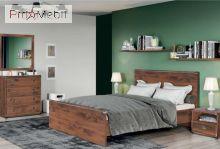 Кровать Indiana дуб шуттер JLOZ 120 BRW