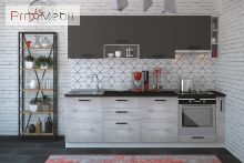Шкафчик верхний МВ 50*35.9 для кухни Руна МДФ Roko