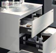 Тумба для ванной с умывальником 81 Foreva Air Клеа Sanwerk