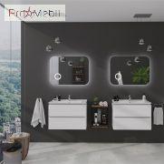 Тумба для ванной с умывальником 80 Amata Air Меркур Sanwerk