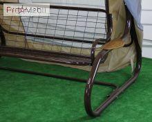 Качели садовые Барна 030 GreenGard с москитной сеткой
