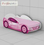 Кровать-машинка KM-420 Kitty Эдисан