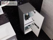 Пенал в ванную комнату PrP-100 оливковый Prato Ювента
