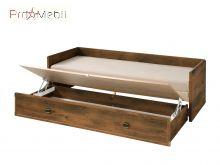 Диван-кровать Indiana дуб шуттер JLOZ 80/160 BRW