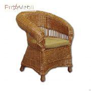 Кресло Киевлянка из лозы