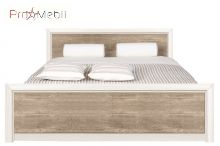 Кровать Koen II LOZ/160 BRW