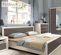 Кровать Koen II LOZ/180 BRW