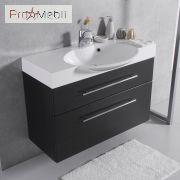 Тумба для ванной с умывальником подвесная ШН-Sumatra 2 Fancy Marble