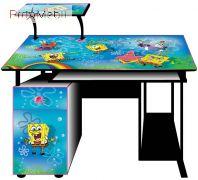 Детский компьютерный стол С-27-1 Губка Боб Эскадо