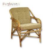 Кресло для отдыха №1 из ротанга