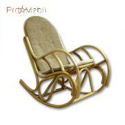 Кресло-качалка Бриз из ротанга