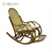 Кресло-качалка Бриз №1 из ротанга