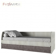 Кровать 2S/90 Nonell Mebel Bos