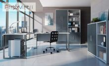Стеллаж открытый REG/53/114 Office Lux BRW