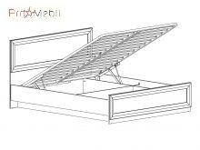 Кровать с подъемным механизмом LOZ160 Маркус BRW