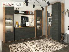 Шкаф с зеркалом Адель 2Д Sokme