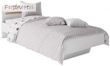Кровать односпальная Бьянко Світ Меблів