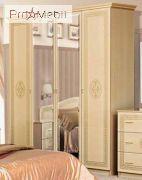 Шкаф 4Д Флоренция венге светлый Світ Меблів
