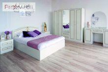 Кровать Стелла белая Embawood