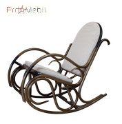 Кресло-качалка Олимп из ротанга