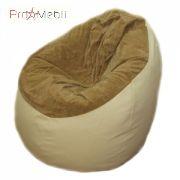 Кресло-мешок Груша комбо большая Poparada