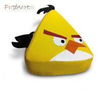 Пуфик Птица желтая маленький Poparada
