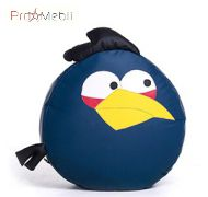 Пуфик Птица синяя маленький Poparada