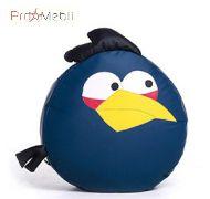 Пуфик Птица синяя средний Poparada