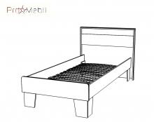 Кровать 90 Сара Сокме